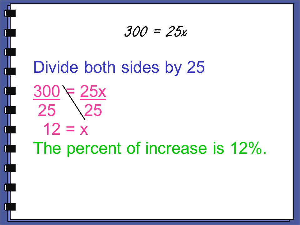 how to find the original number after a percentage decrease