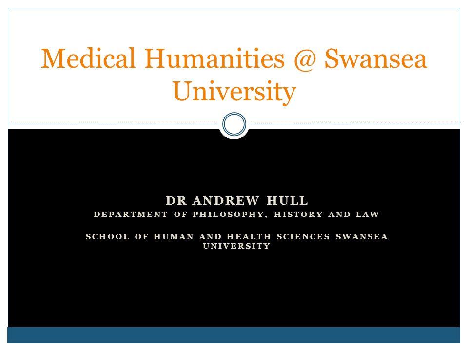 Medical Humanities @ Swansea University