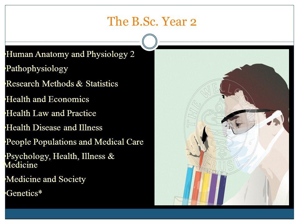 The B.Sc. Year 2 Human Anatomy and Physiology 2 Pathophysiology