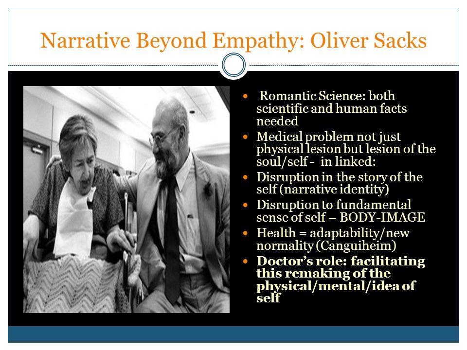 Narrative Beyond Empathy: Oliver Sacks