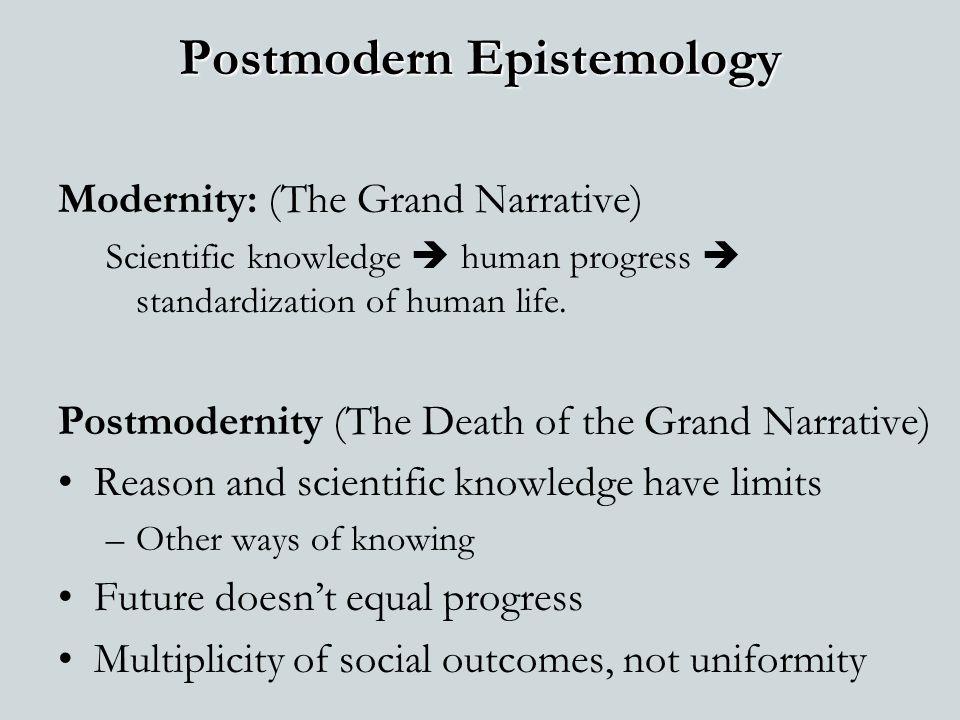 Postmodern Epistemology