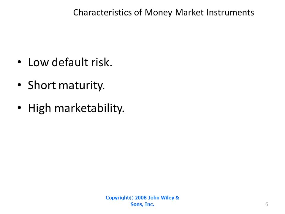 Chapter 7 money markets ppt video online download for 6 characteristics of bureaucracy