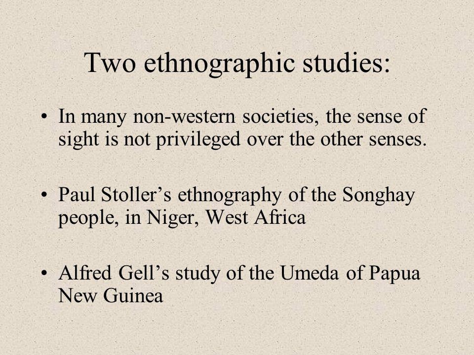 Two ethnographic studies: