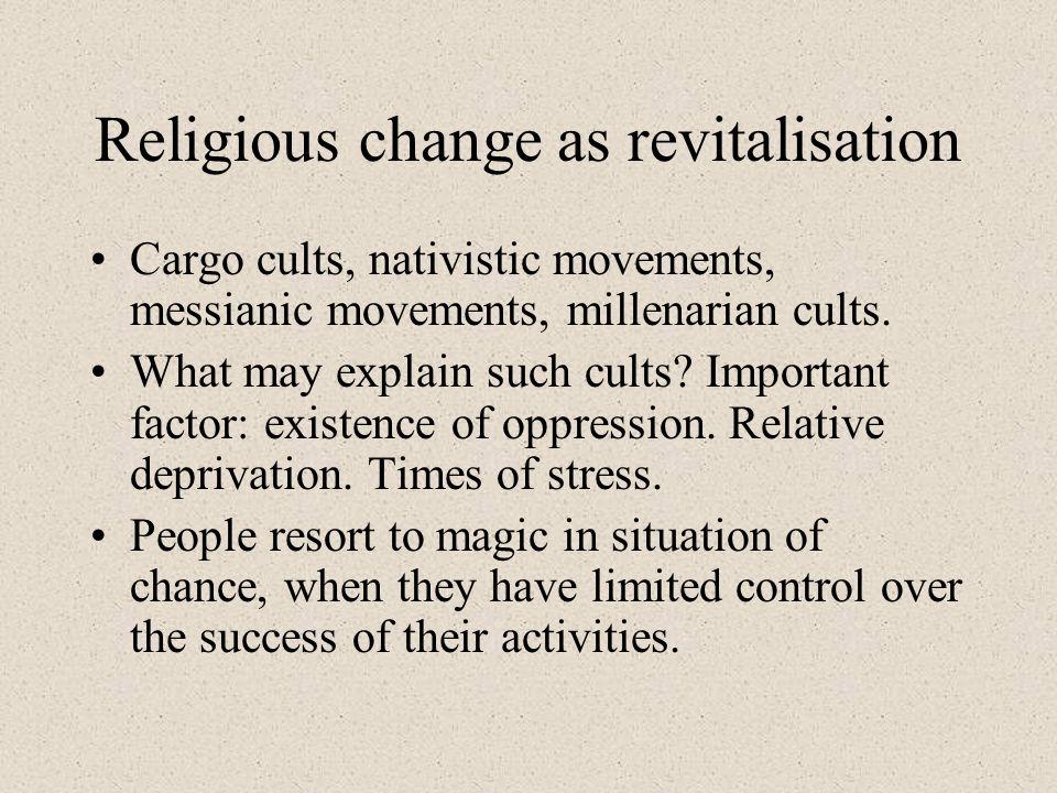 Religious change as revitalisation