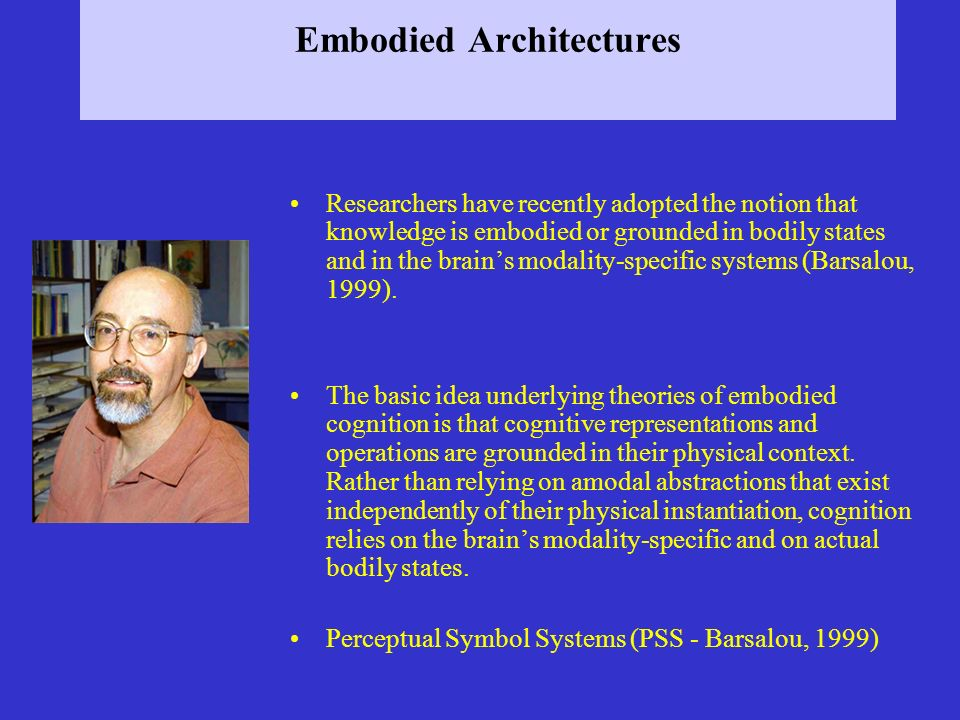 Embodied Architectures
