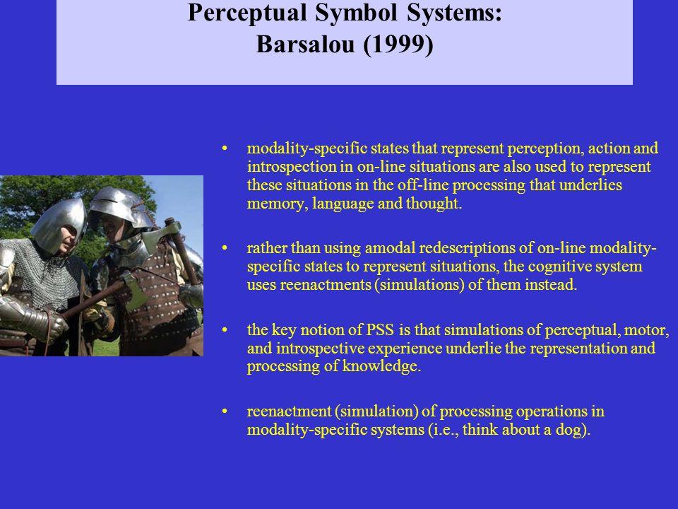 Perceptual Symbol Systems: Barsalou (1999)