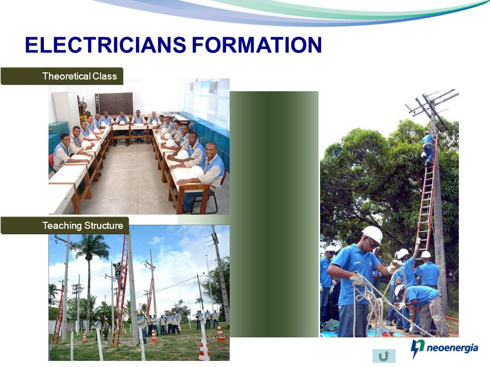 ELECTRICIANS FORMATION