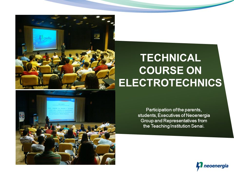 TECHNICAL COURSE ON ELECTROTECHNICS