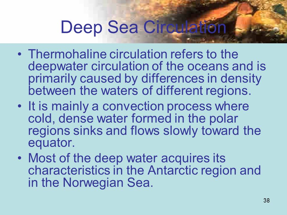 Deep Sea Circulation