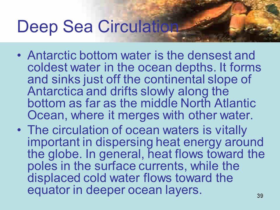 Deep Sea Circulation