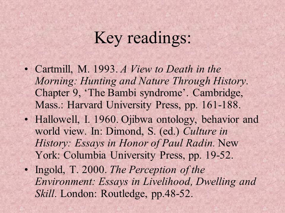 Key readings: