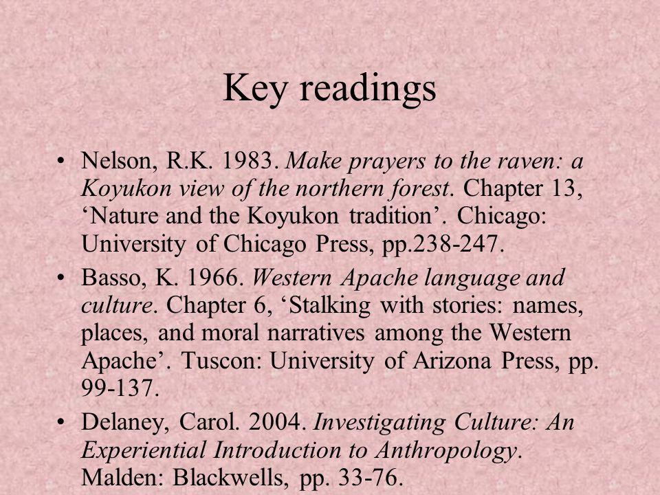 Key readings