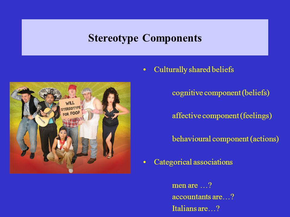 Stereotype Components