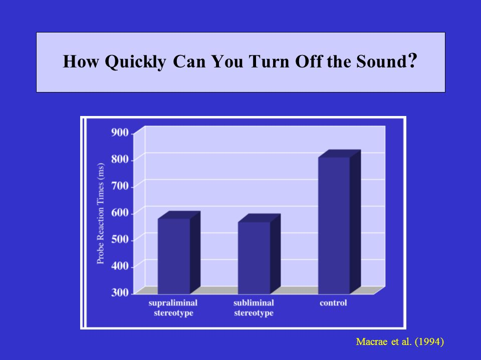 How Quickly Can You Turn Off the Sound