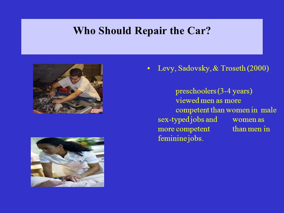 Who Should Repair the Car