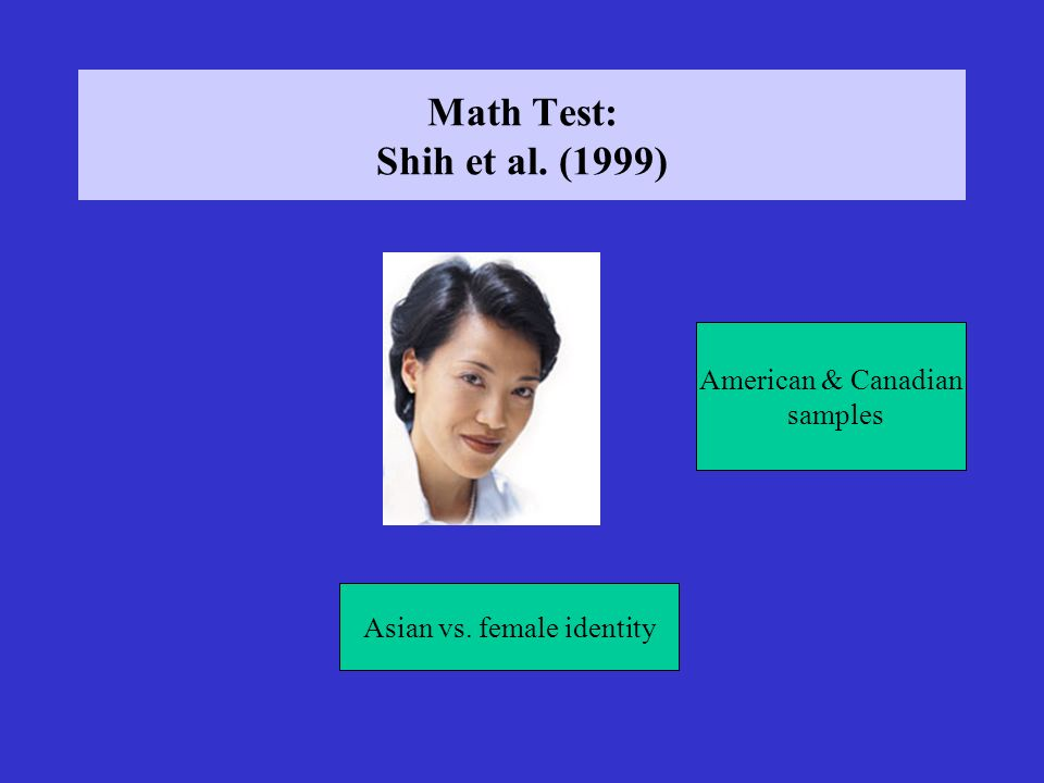 Asian vs. female identity