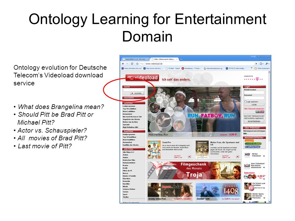 Ontology Learning for Entertainment Domain