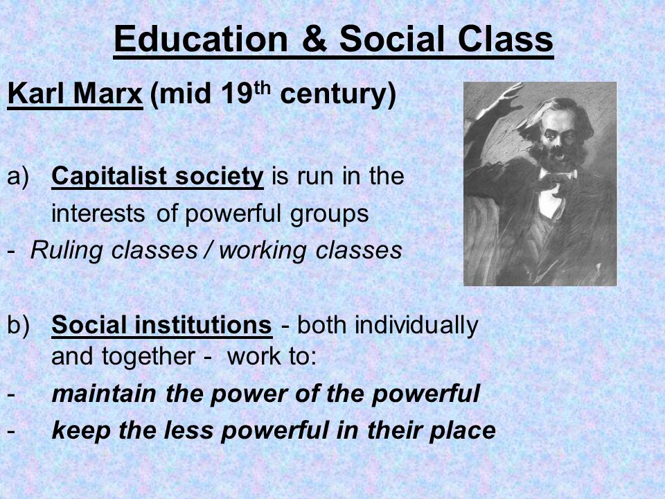 Education & Social Class