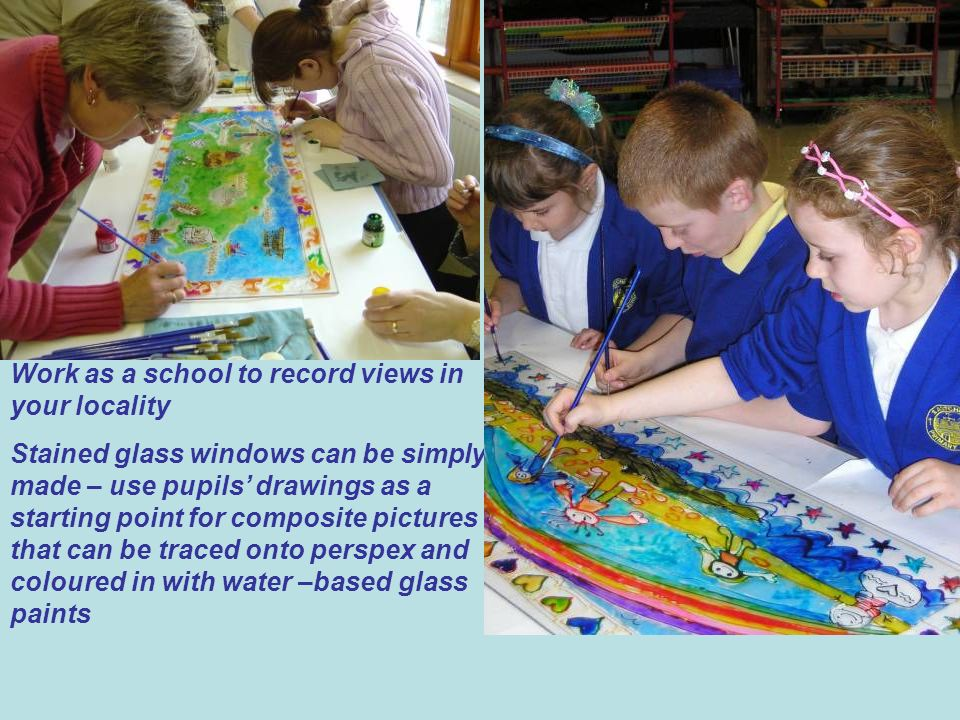 Work as a school to record views in your locality