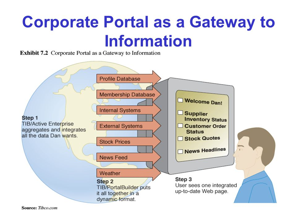 Corporate Portal as a Gateway to Information