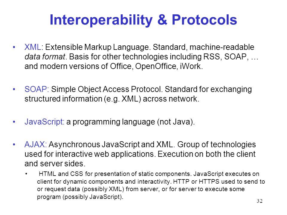 Interoperability & Protocols