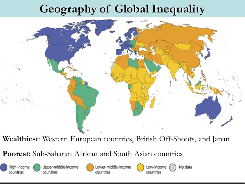 Geography of Global Inequality