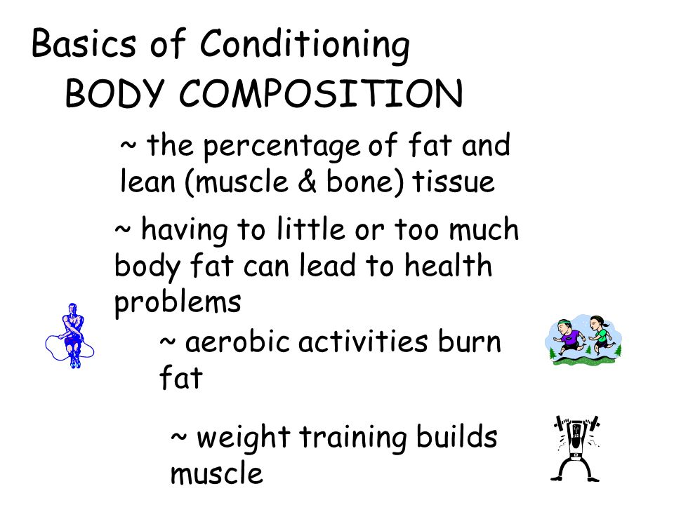 Basics of Conditioning BODY COMPOSITION