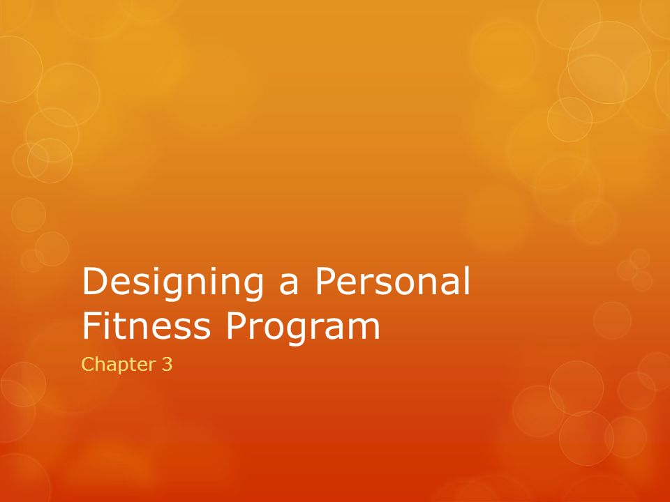 a reflection on a personal fitness program Physical fitness essaysphysical fitness is  save your essays here so you  physical fitness and the decision to carry out a physical fitness program should not.