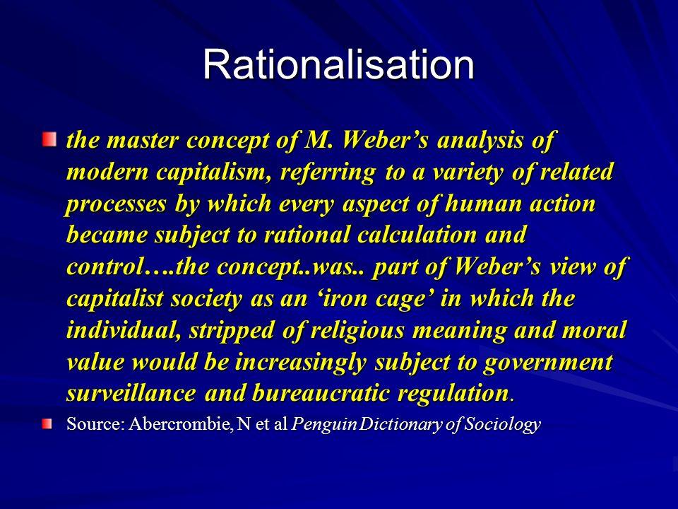 Rationalisation