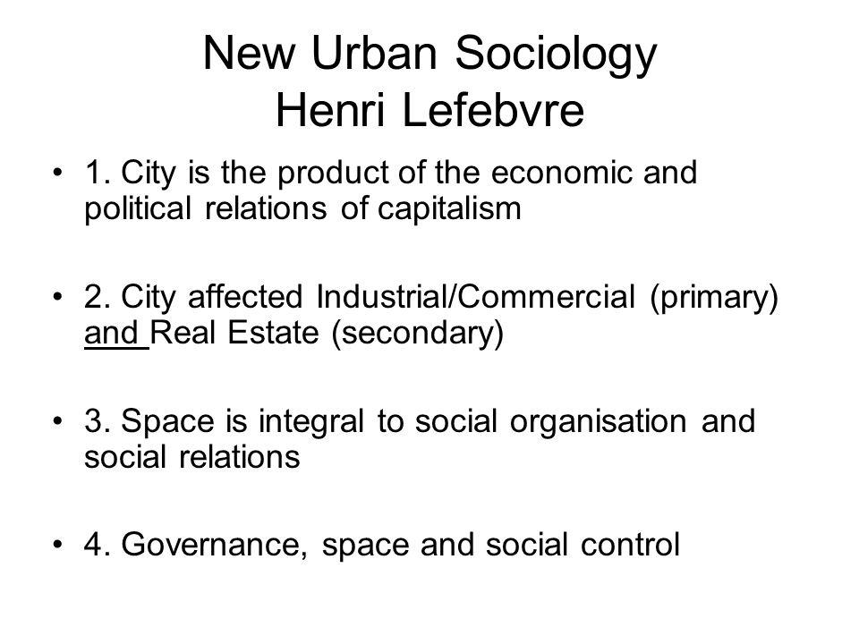 New Urban Sociology Henri Lefebvre