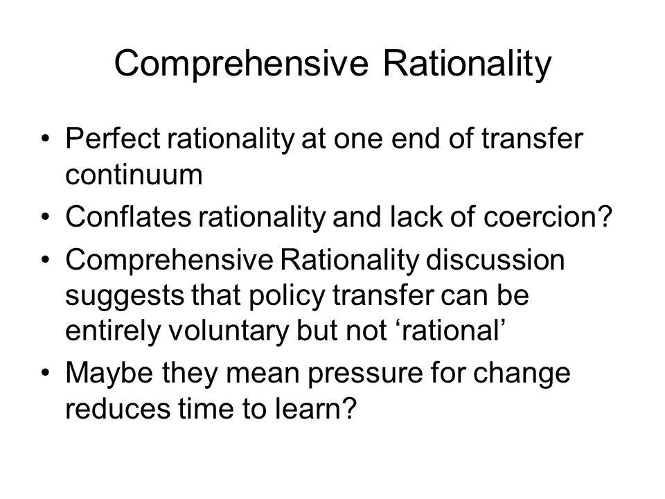 Comprehensive Rationality