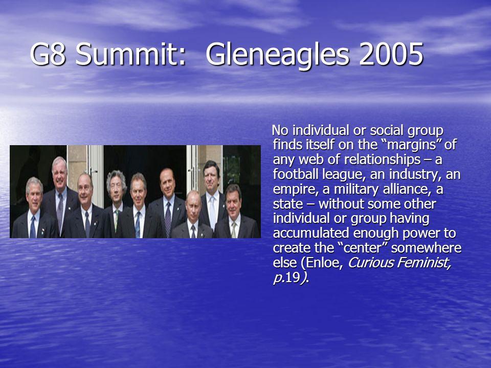 G8 Summit: Gleneagles 2005