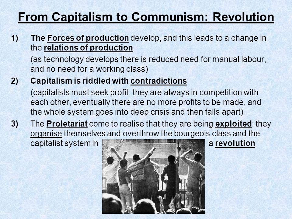 From Capitalism to Communism: Revolution