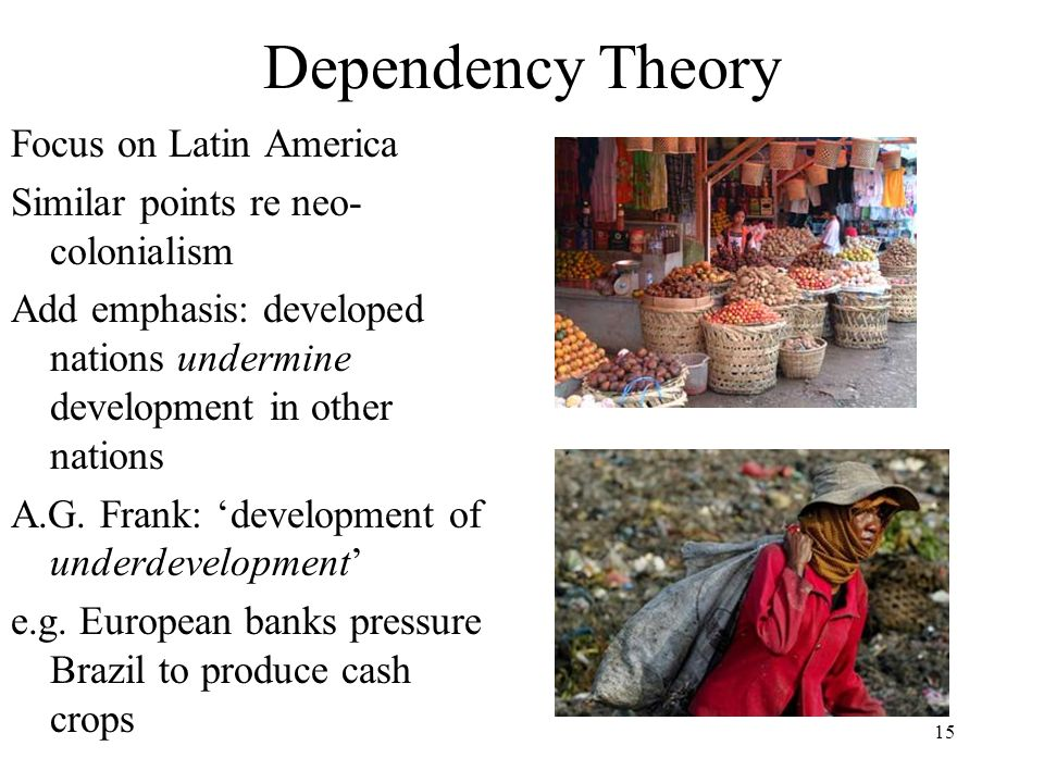 Dependency Theory Focus on Latin America