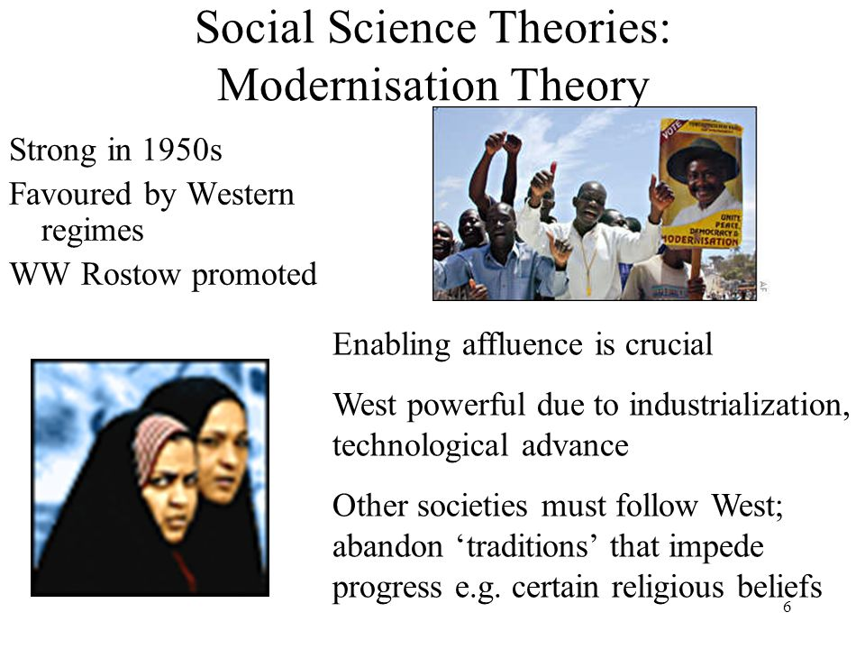 Social Science Theories: Modernisation Theory