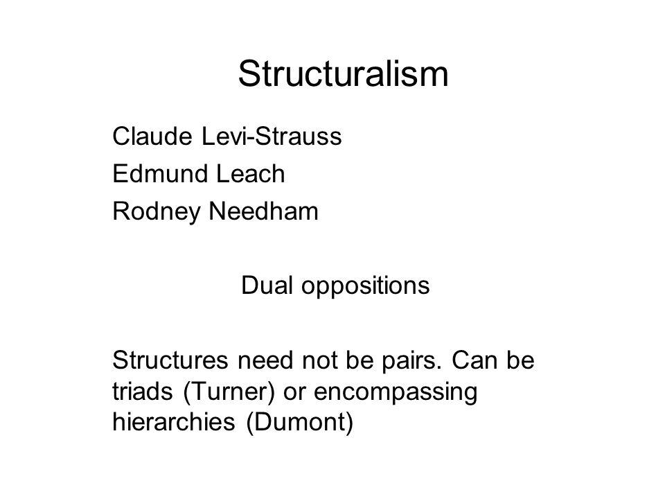 Structuralism Claude Levi-Strauss Edmund Leach Rodney Needham