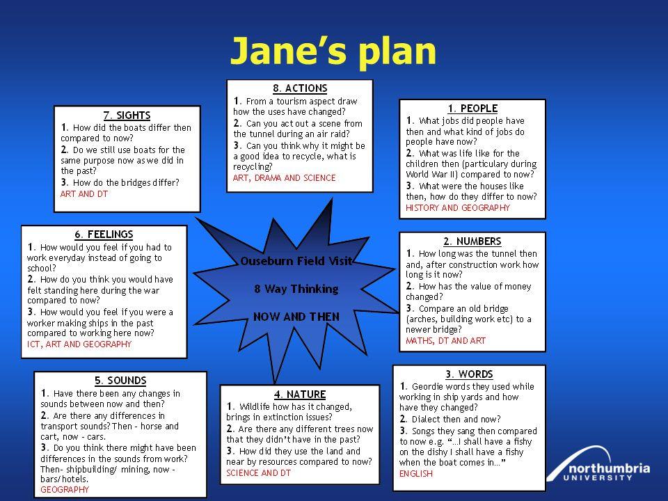 Jane's plan