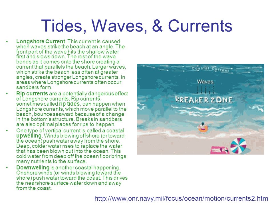 Tides, Waves, & Currents