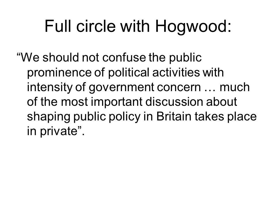 Full circle with Hogwood: