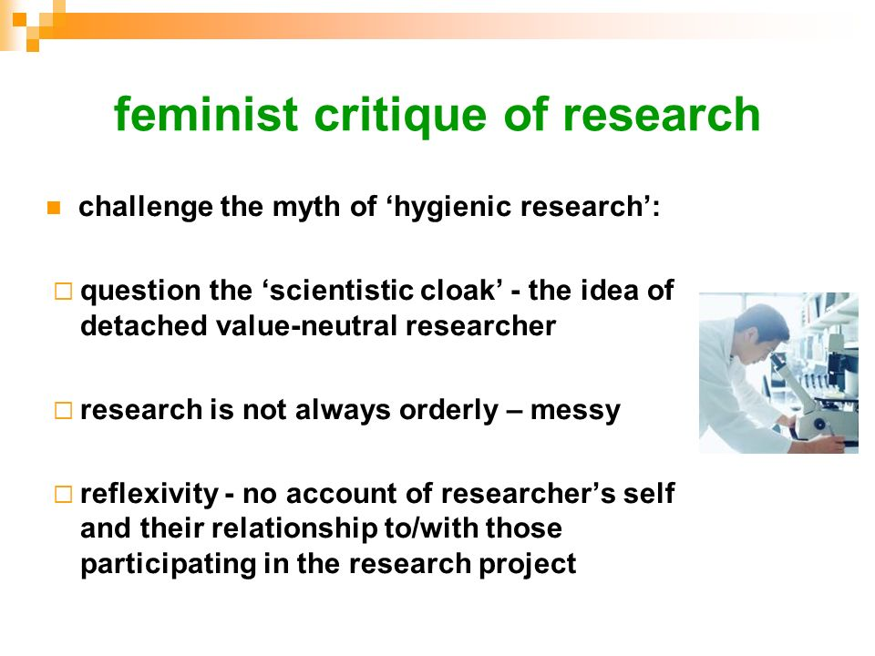feminist critique of research