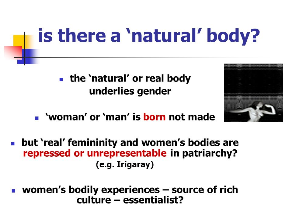 is there a 'natural' body
