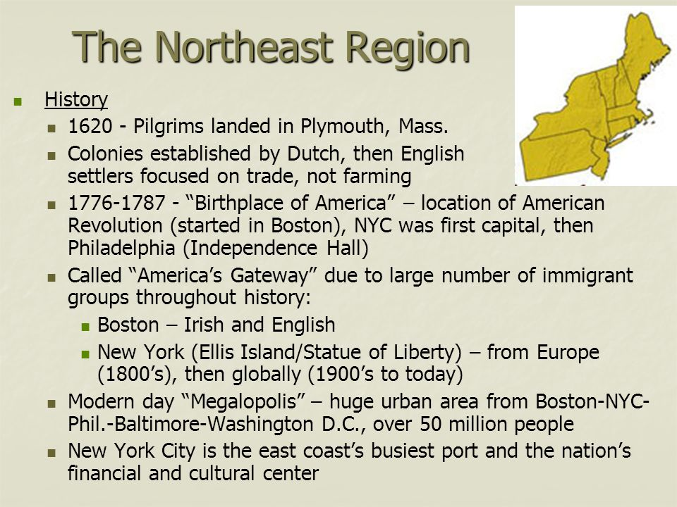 Regions of the united states ppt video online download for New york culture facts