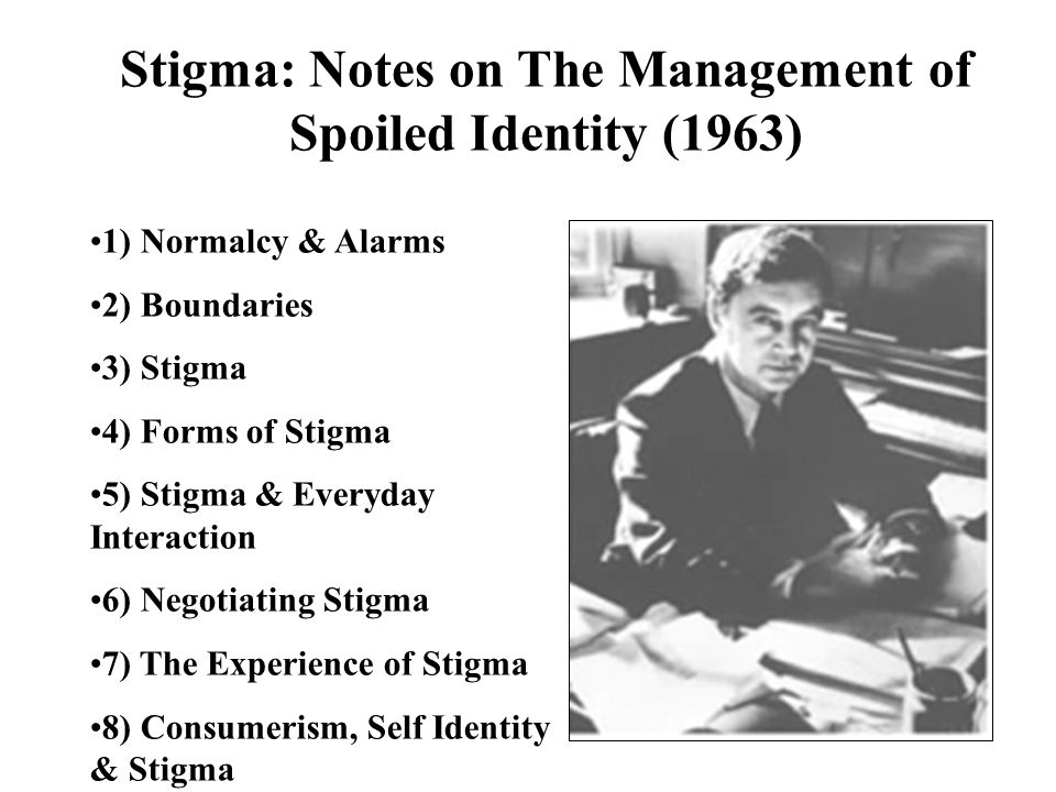 Stigma: Notes on The Management of Spoiled Identity (1963)