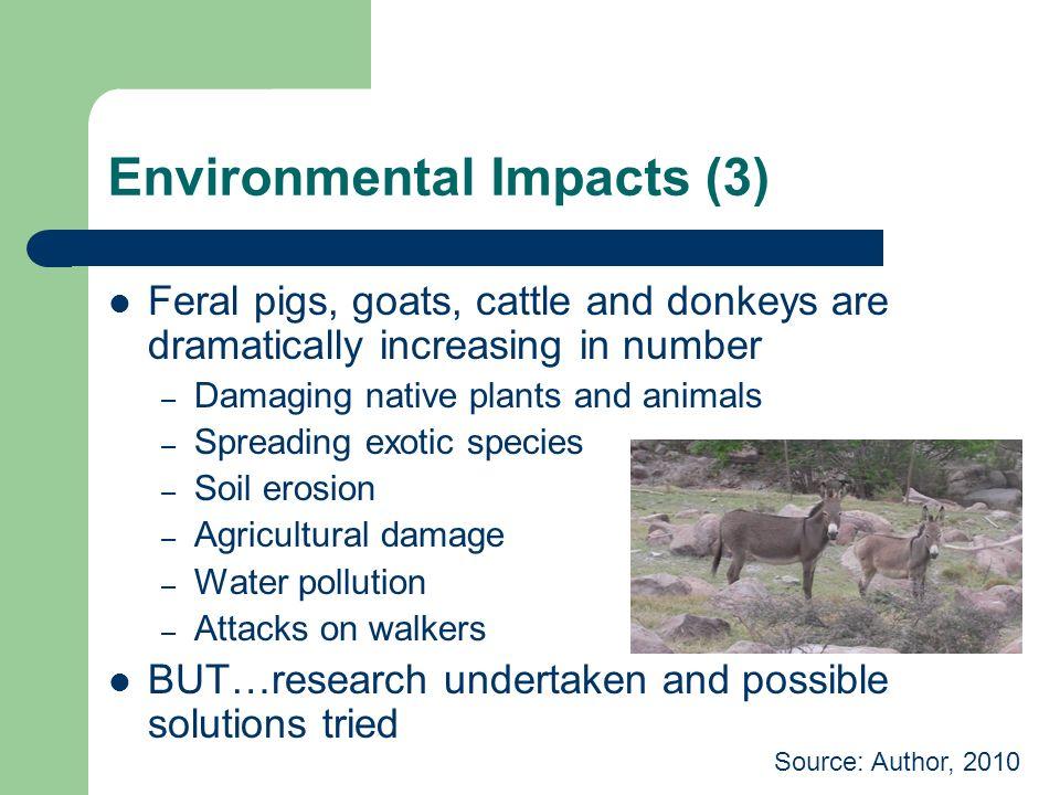 Environmental Impacts (3)
