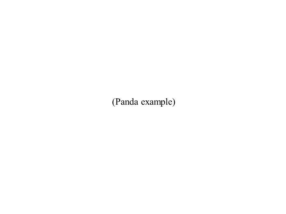 (Panda example)