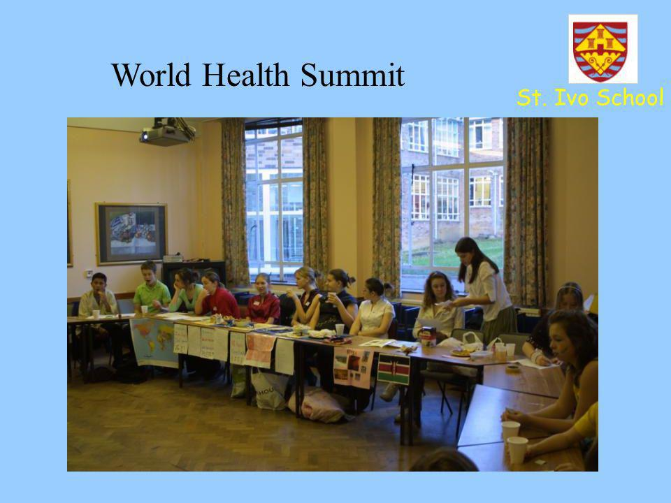 World Health Summit St. Ivo School