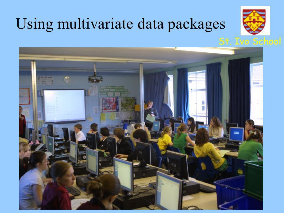 Using multivariate data packages