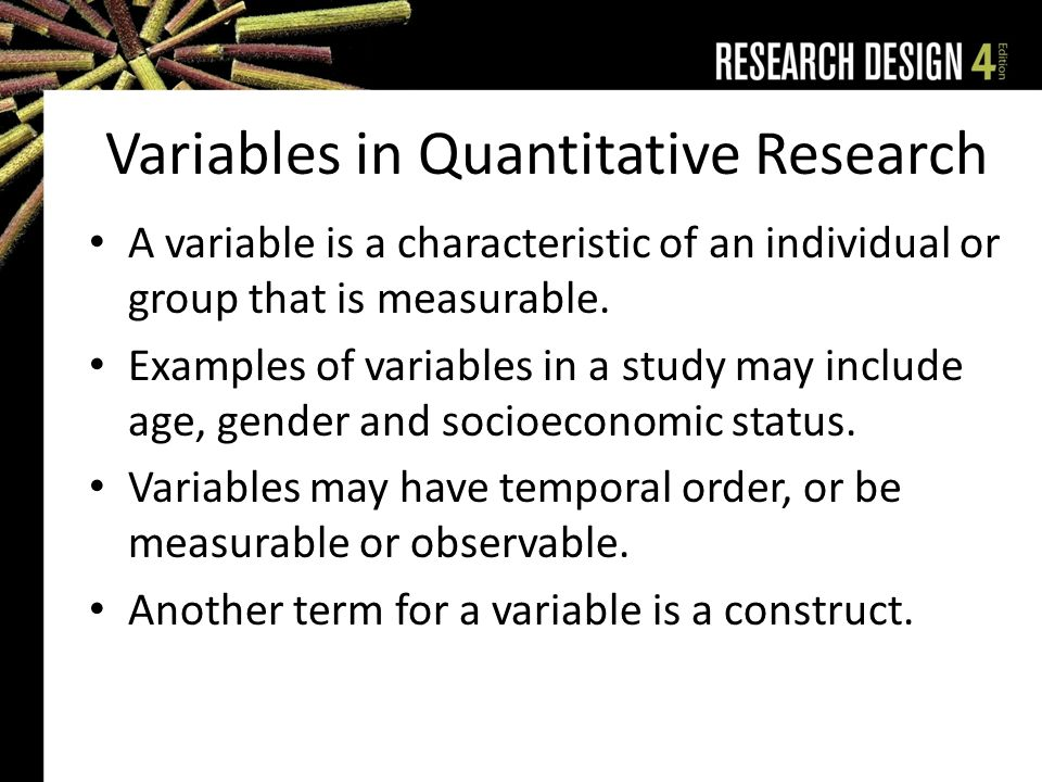 IJRRMS 2013;3(4) Variables in research