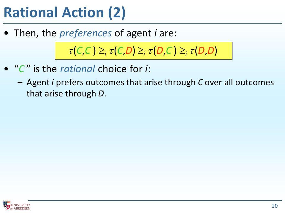  (C,C ) i  (C,D) i  (D,C ) i  (D,D)