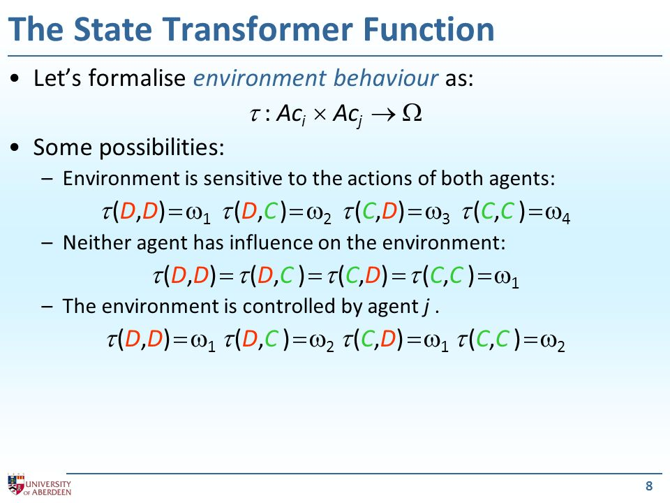 The State Transformer Function